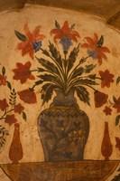 Intricate frescoes, Tomb, Agra, Uttar Pradesh, India. by Inger Hogstrom - various sizes - $24.99