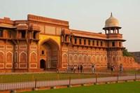 Jahangiri Mahal, Agra Fort, Agra, Uttar Pradesh, India. by Inger Hogstrom - various sizes