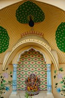 Small shrine to Ganesh, Jaipur, Rajasthan, India. Fine Art Print