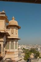 Turret, City Palace, Udaipur, Rajasthan, India by Inger Hogstrom - various sizes