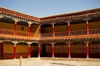 Building facade, Gompas And Chortens, Ladakh, India Fine Art Print