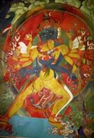 Thikese Monastery, Interior, Ladakh, India Fine Art Print
