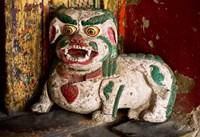 Animal by Hemis Monastery, Ladakh, India Fine Art Print
