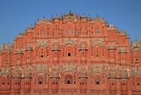 Hawa Mahal (Palace of the Winds), Rajasthan, India Fine Art Print