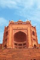 Gate, Jami Masjid Mosque, Fatehpur Sikri, Agra, India Fine Art Print