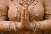 Hindu sculpture, Bhubaneswar, Orissa, India Fine Art Print