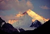 India, Ladakh, Nun-Kun Peak, Zanskar Valley Fine Art Print