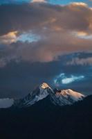 Landscape of Stok Mountain Range, Ladakh, India by Keren Su - various sizes - $32.99