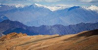 Landscape of the Himalayas, Taglangla Pass, Ladakh, India by Keren Su - various sizes - $32.99