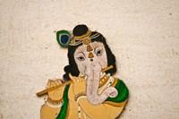 Mural depicting Ganesha, a Hindu deity, inside City Palace, Udaipur, Rajasthan, India by Keren Su - various sizes