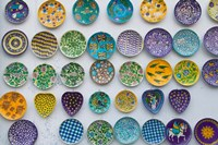 Pottery Dish Decoration on Wall, Jaipur, Rajasthan, India by Keren Su - various sizes