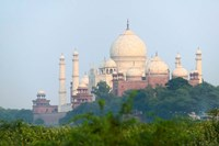Taj Mahal (UNESCO World Heritage site), Agra, India Fine Art Print