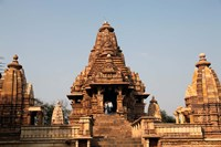 India, Khajuraho. Lakshmana Temple at Khajuraho Fine Art Print