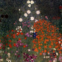 The Flowery Garden, c.1907 Fine Art Print