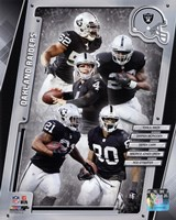 Oakland Raiders 2014 Team Composite Fine Art Print