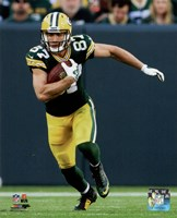 Jordy Nelson football 2014 Framed Print