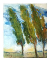 The Three Trees Fine Art Print