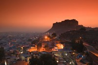 Meherangarh Fort and Town, Rajasthan, India by Walter Bibikow - various sizes