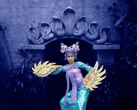 Balinese Dancer in Front of Temple in Ubud, Bali, Indonesia by Jaynes Gallery - various sizes