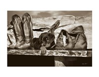 Big Foot Fine Art Print