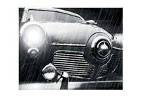 Studebaker Rain Framed Print