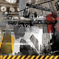 New York Streets II Fine Art Print