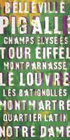 Explore Paris I Framed Print