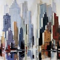 "Urbania 1 by Robert Seguin - 24"" x 24"", FulcrumGallery.com brand"