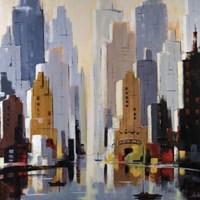 Urbania 2 Fine Art Print