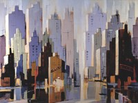 Urbania 3 Fine Art Print