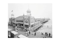Atlantic City Steel Pier, 1910s Framed Print