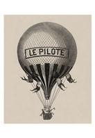 Le Pilote Fine Art Print