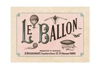 Le Ballon, ca. 1883 Fine Art Print