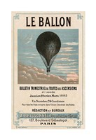 Le Ballon, Paris Fine Art Print