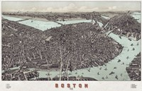 Boston, Massachusetts, 1899 Fine Art Print