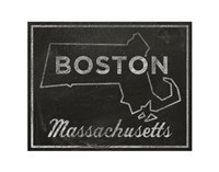 Boston, Massachusetts Fine Art Print