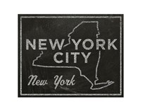 New York City, New York Framed Print