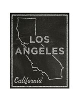 Los Angeles, California Fine Art Print