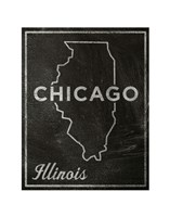 Chicago, Illinois Framed Print