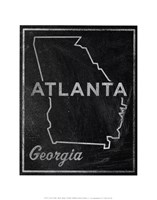 Atlanta, Georgia Fine Art Print