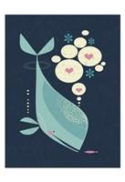 Whale has a Friend Fine Art Print