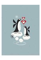 Penguin Love Fine Art Print
