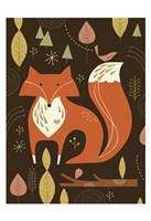 Fox in the Woods Fine Art Print