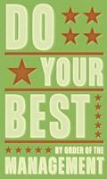 "Do Your Best by John W. Golden - 12"" x 20"""