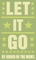 """Let it Go by John W. Golden - 12"""" x 20"""""""