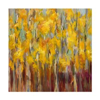 Golden Angels in the Aspens Fine Art Print