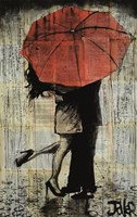The Red Umbrella Fine Art Print