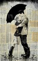 The Black Umbrella Fine Art Print