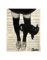 """This be Cat by Loui Jover - 11"""" x 14"""""""