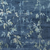 """Denim Branches II by Mali Nave - 12"""" x 12"""""""
